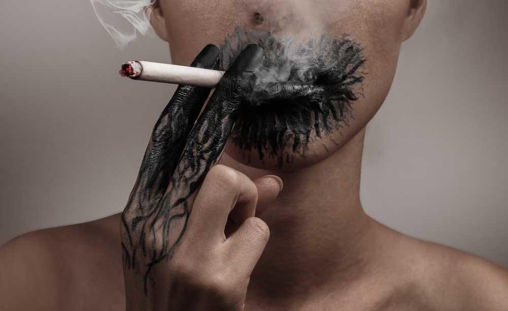 La fumée de cigarette endommage-t-elle la peau ?