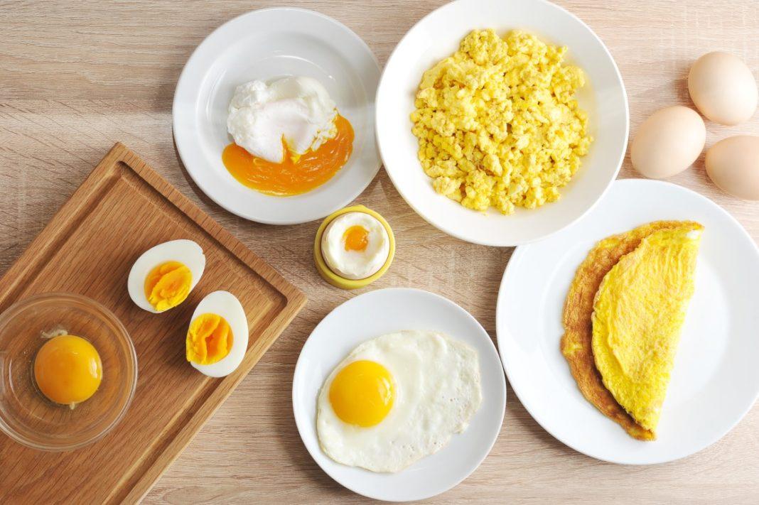 calorie dans un œuf selon sa préparation