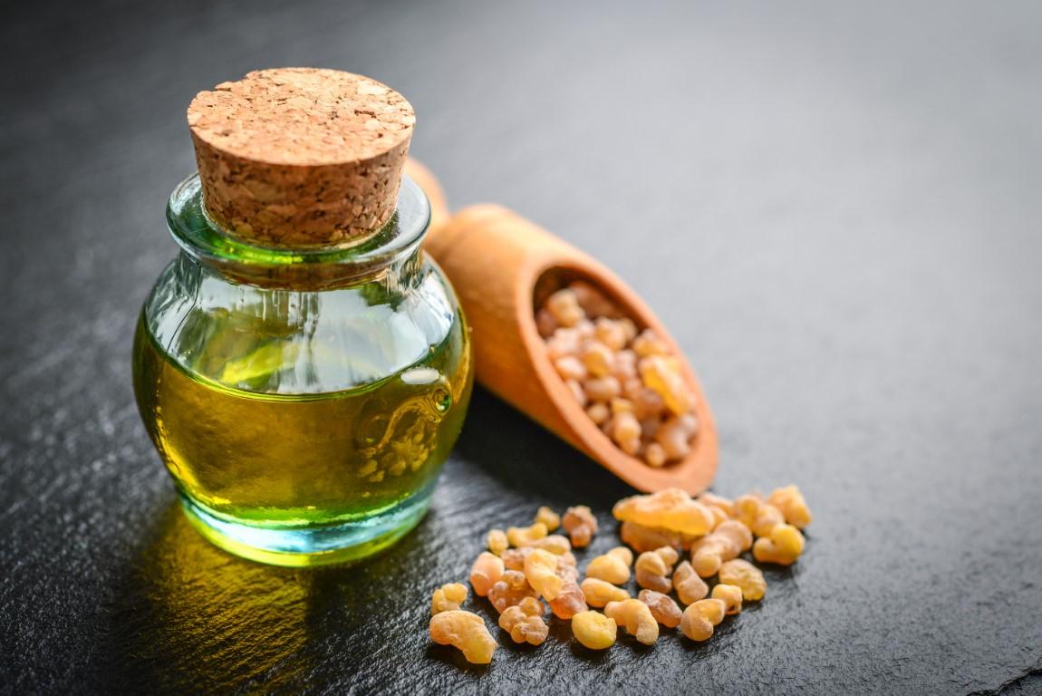 huile essentielle d'encens contre les kératose séborrhéique
