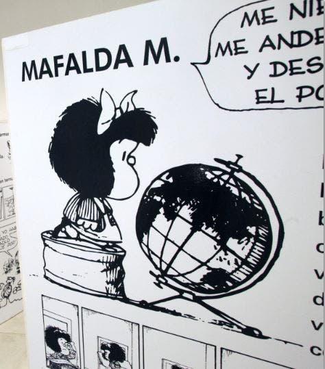 L'amour, selon Mafalda, pour ces temps difficiles