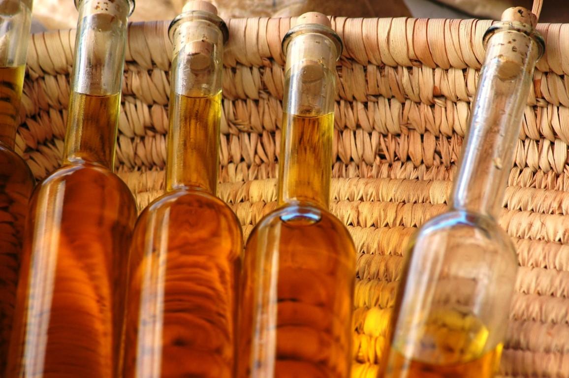 bouteille d'huile d'olive