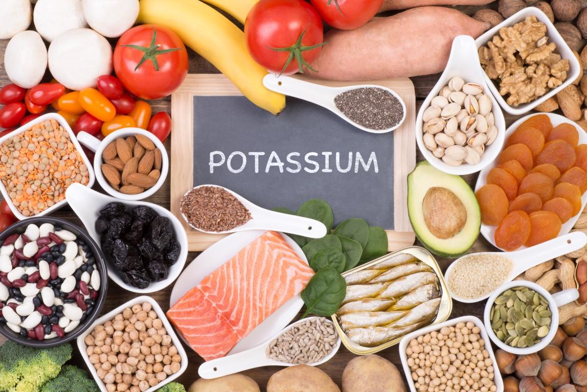 aliments riches en potassium