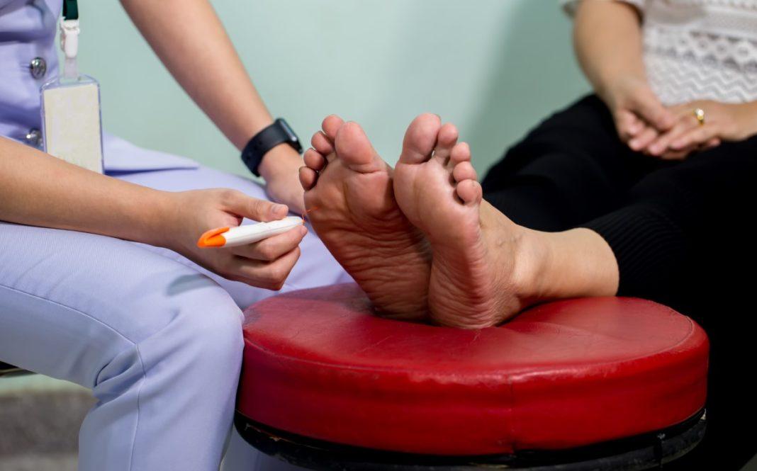 neuropathie des pieds